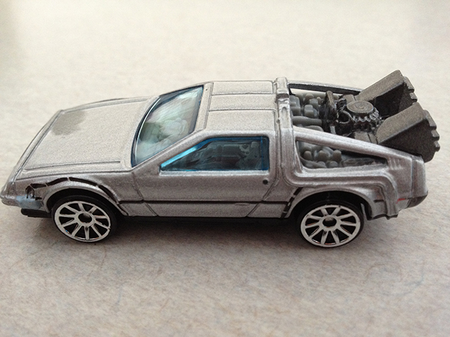 bttf hot wheels